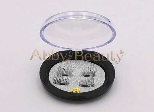 Magnetic 3D Faux Mink Strip Lashes 008