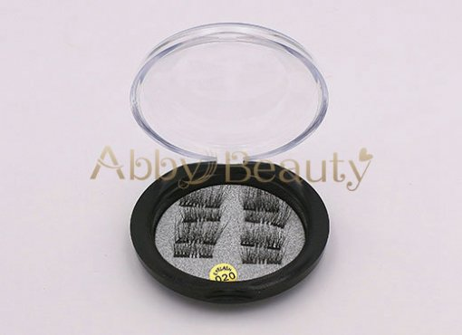 Magnetic 3D Mink Strip Lashes 020