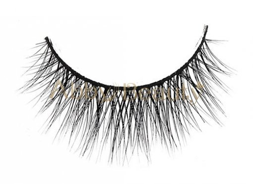 3D Clear Band Mink Strip Lashes / MH-032