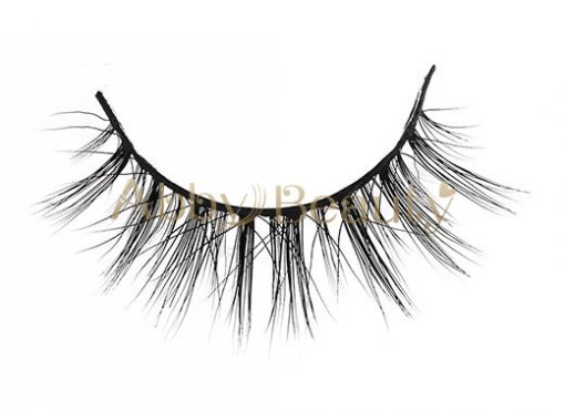Best 3D Faux Mink Lashes Strip Supplier With Free Packaging (MH016)