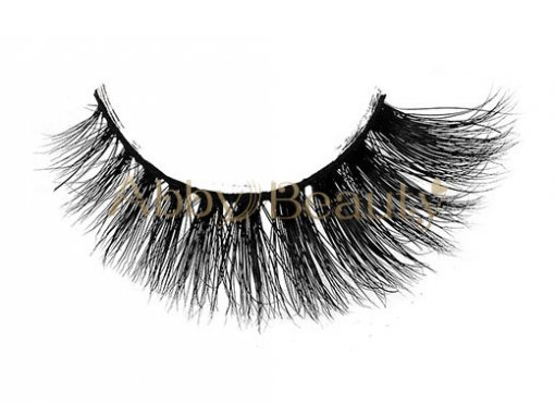 Hot Sale 3D Faux Mink Strip Lashes With Private Label / MH-003
